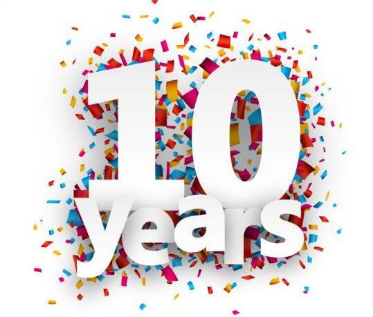 10 year birthday